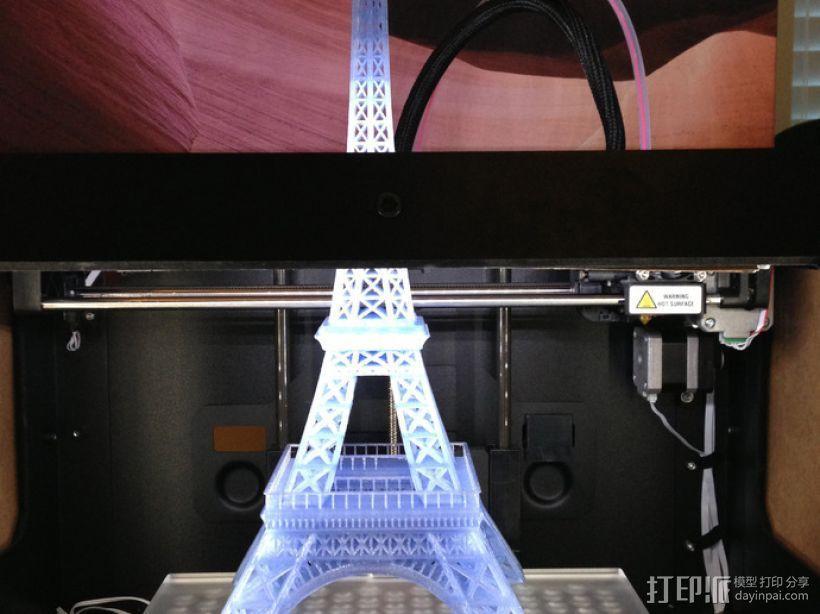 埃菲尔铁塔 3D模型  图1