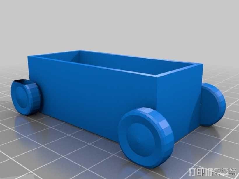 公共汽车 3D模型  图3