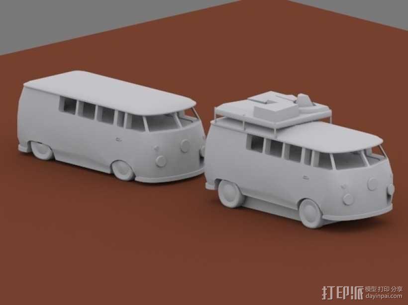 公共汽车 3D模型  图5
