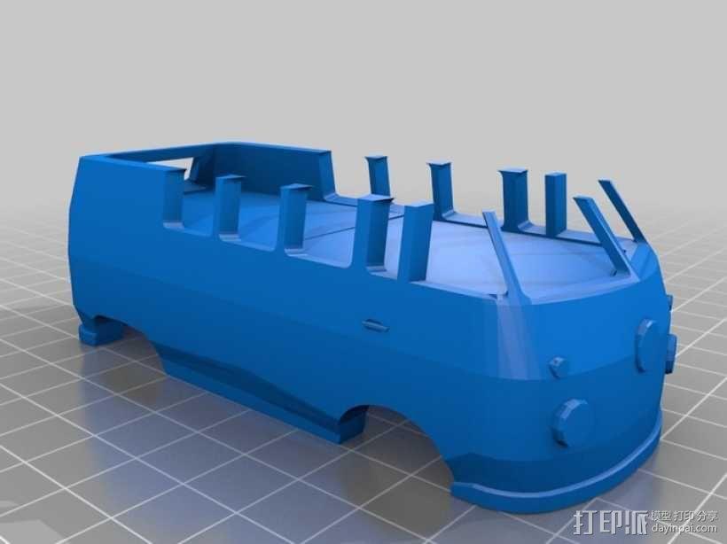 公共汽车 3D模型  图4