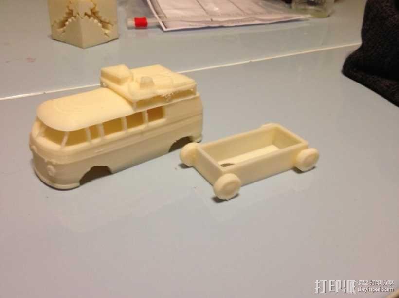公共汽车 3D模型  图7