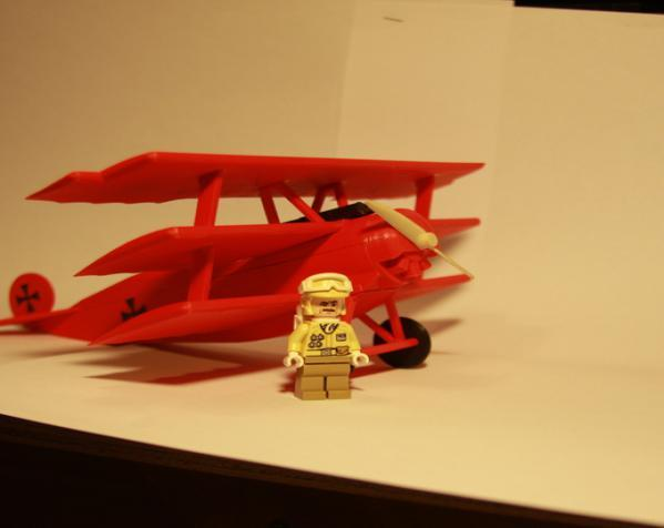 DR.1 三翼飞机 3D模型  图3
