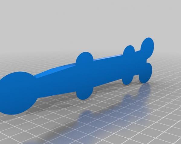 DR.1 三翼飞机 3D模型  图6