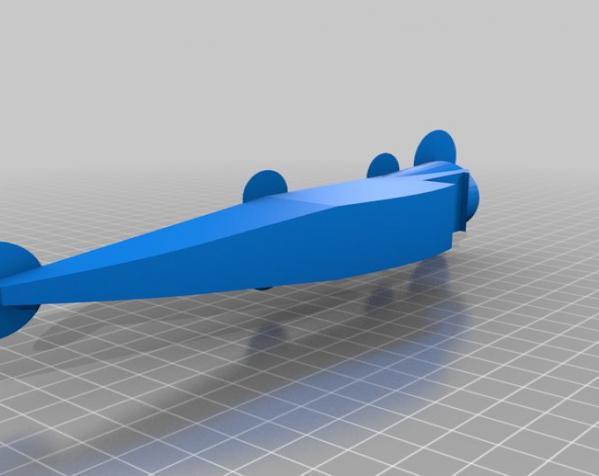 DR.1 三翼飞机 3D模型  图7