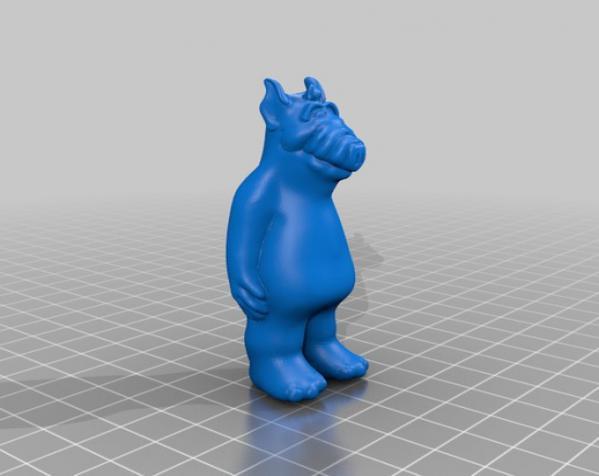 Alf 3D模型  图1
