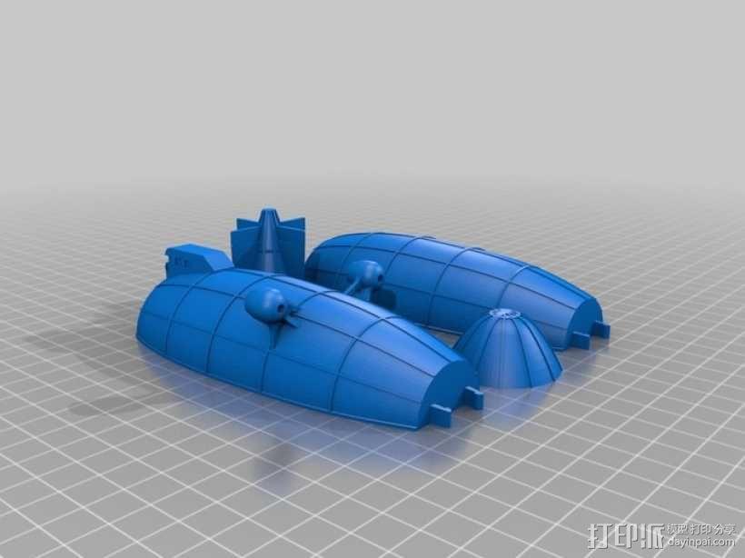 飞船 3D模型  图1