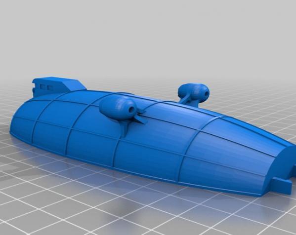 飞船 3D模型  图9