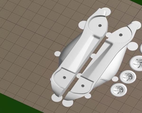 梅赛德斯C9 车 3D模型  图4