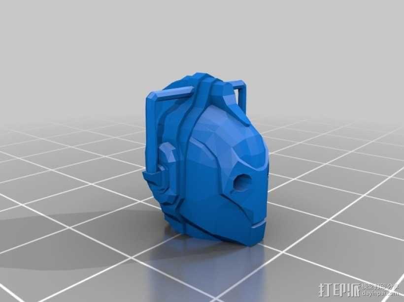 赛博人 3D模型  图1