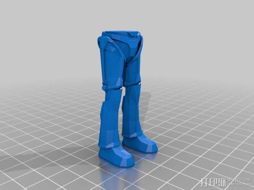 赛博人 3D模型  图3