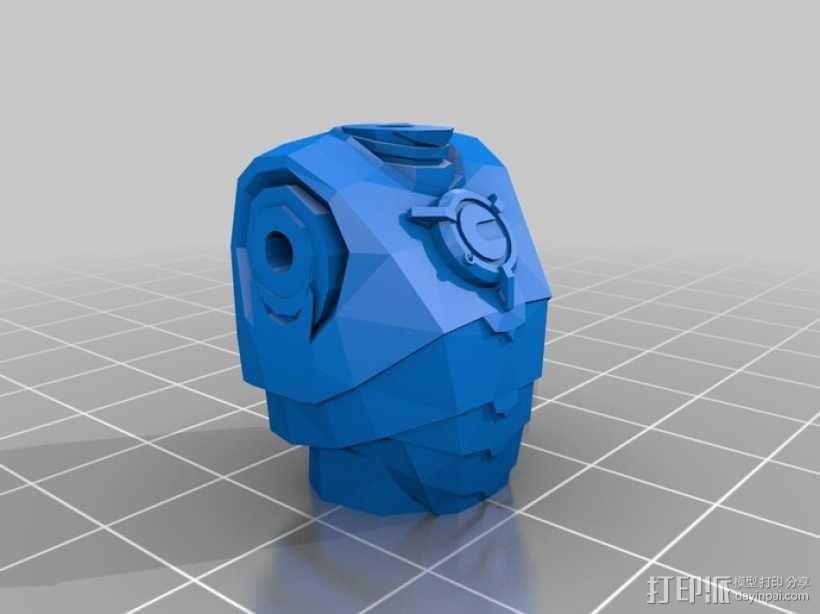 赛博人 3D模型  图2
