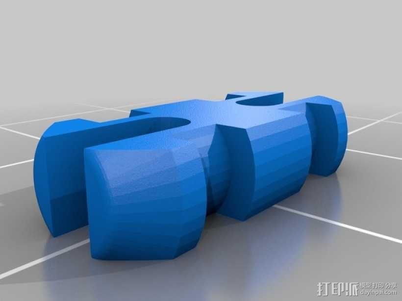电动摩托车 3D模型  图2
