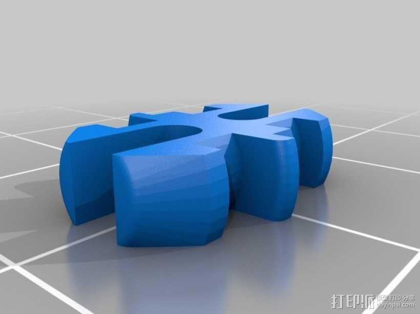 电动摩托车 3D模型  图17