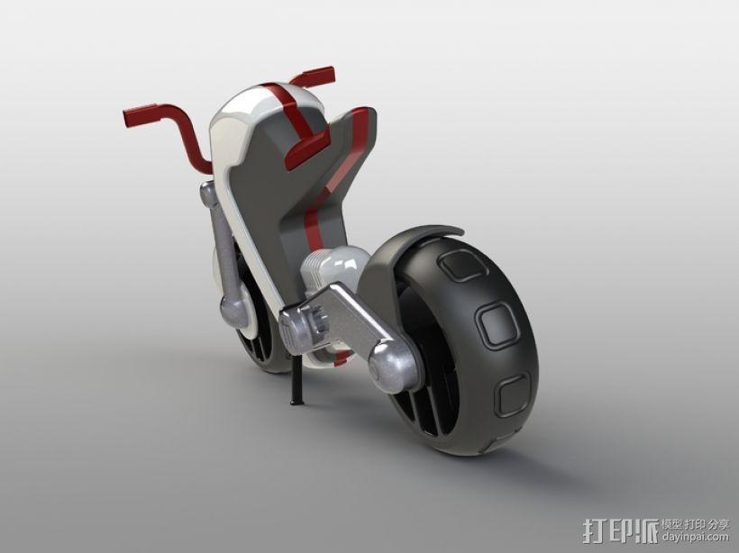 电动摩托车 3D模型  图28