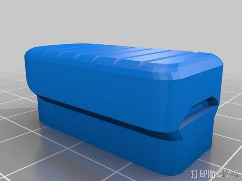 折叠踏板车 3D模型  图3