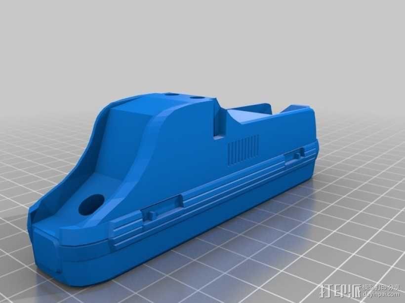 折叠踏板车 3D模型  图5