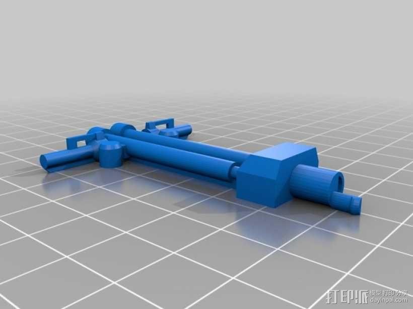 折叠踏板车 3D模型  图6