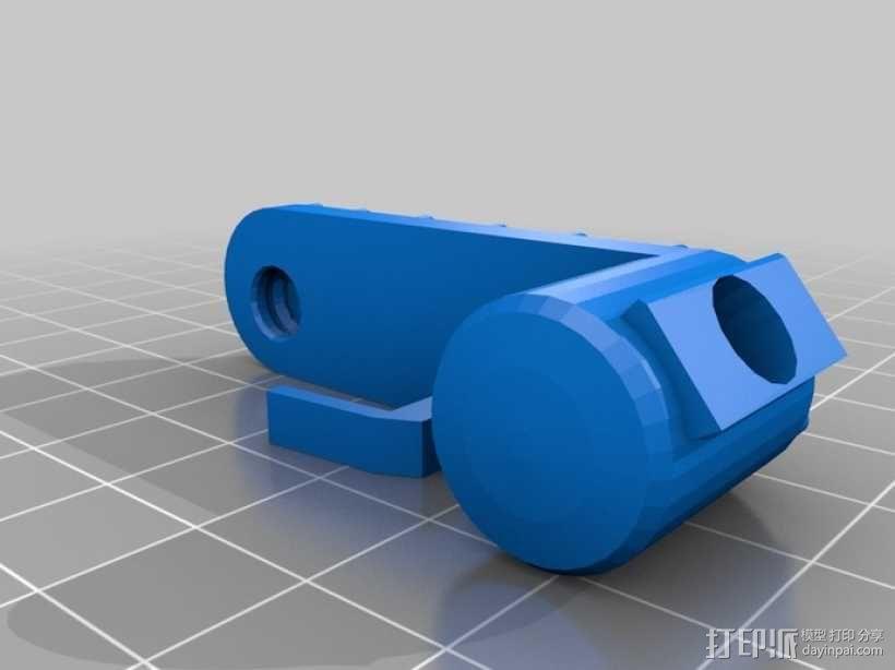 折叠踏板车 3D模型  图7