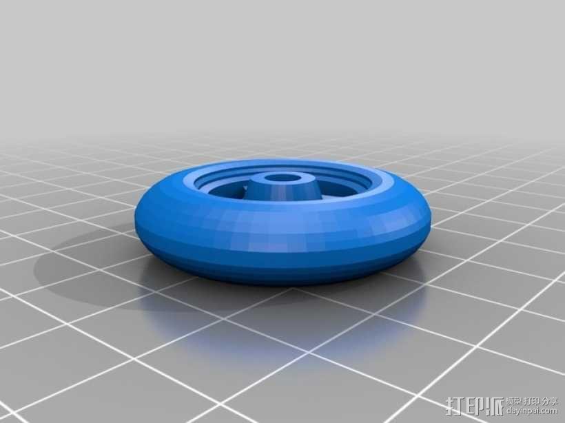 折叠踏板车 3D模型  图10