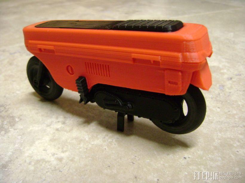 折叠踏板车 3D模型  图17