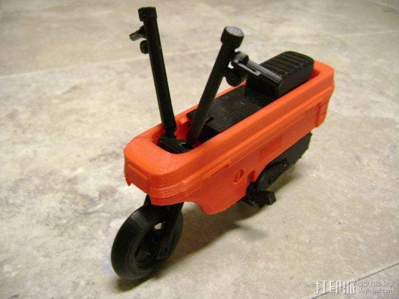 折叠踏板车 3D模型  图16