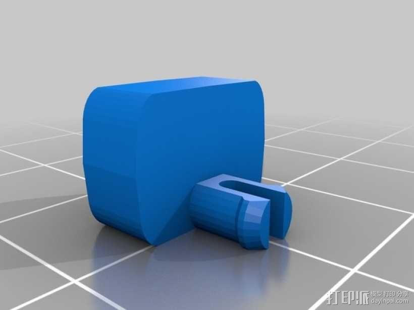 折叠踏板车 3D模型  图18