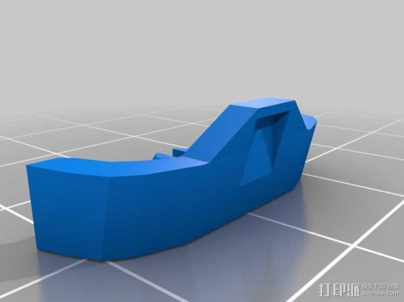 折叠踏板车 3D模型  图19