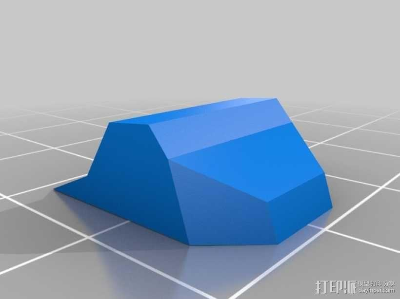 折叠踏板车 3D模型  图21