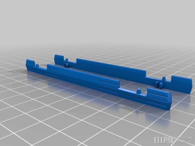 折叠踏板车 3D模型  图22