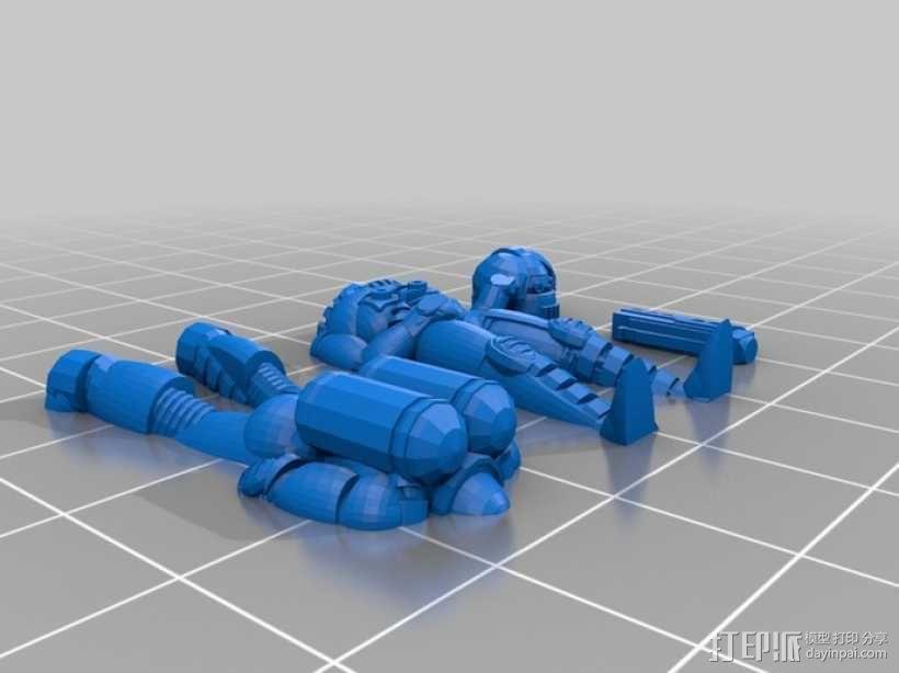Hatch 42 桌游玩偶 3D模型  图2