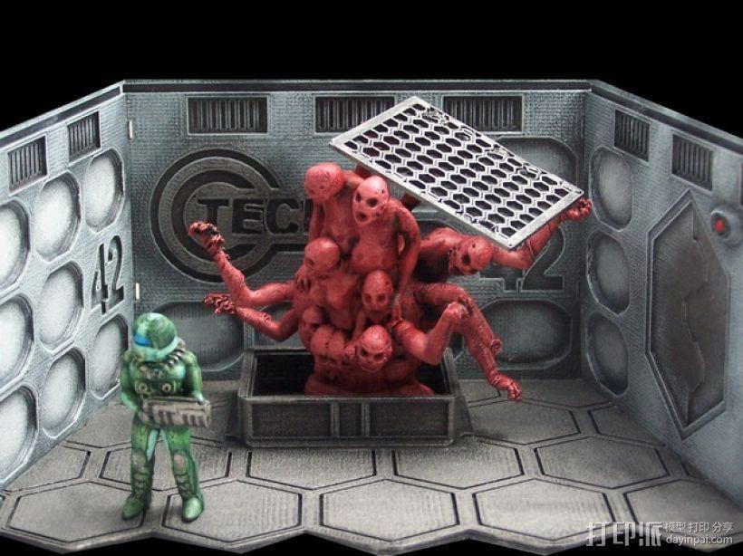Hatch 42 桌游玩偶 3D模型  图1