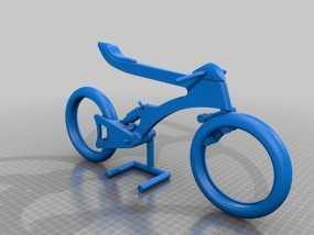 摩托车模型  3D模型