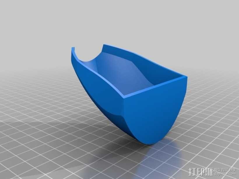 喷射机 模型 3D模型  图2