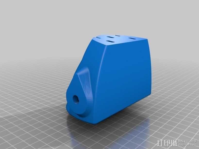 喷射机 模型 3D模型  图1