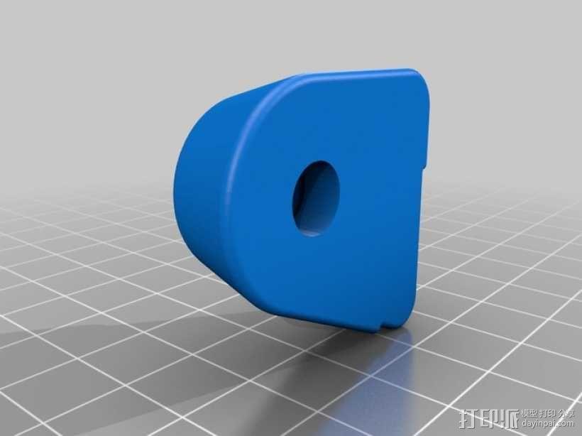 喷射机 模型 3D模型  图4