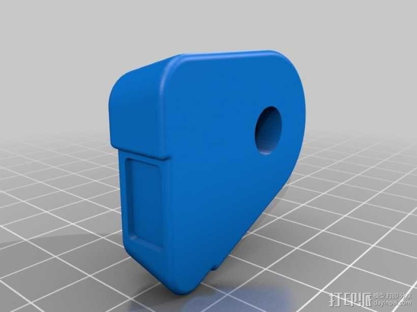 喷射机 模型 3D模型  图3