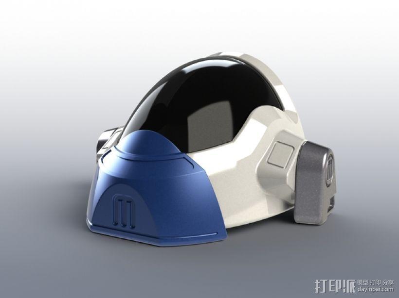 喷射机 模型 3D模型  图5