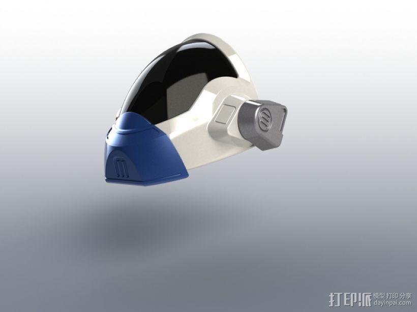 喷射机 模型 3D模型  图7