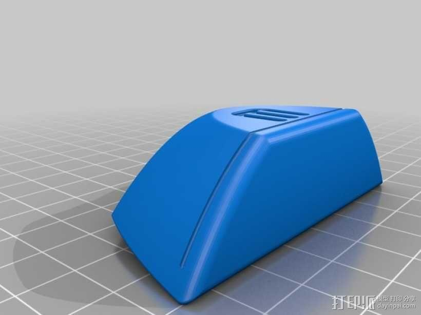 喷射机 模型 3D模型  图9