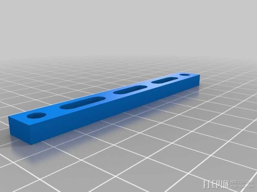 Peaucellier直线连杆 3D模型  图6
