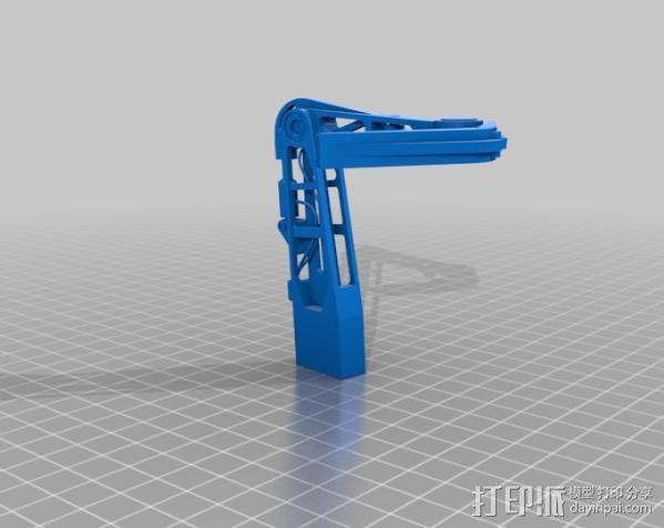 2040未来主义风格飞行器 3D模型  图9