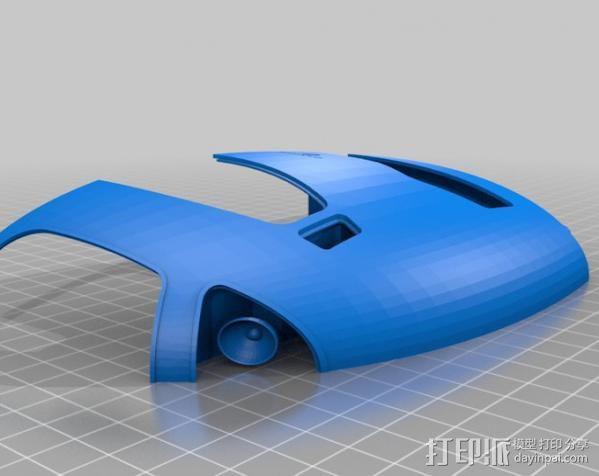 2040未来主义风格飞行器 3D模型  图12