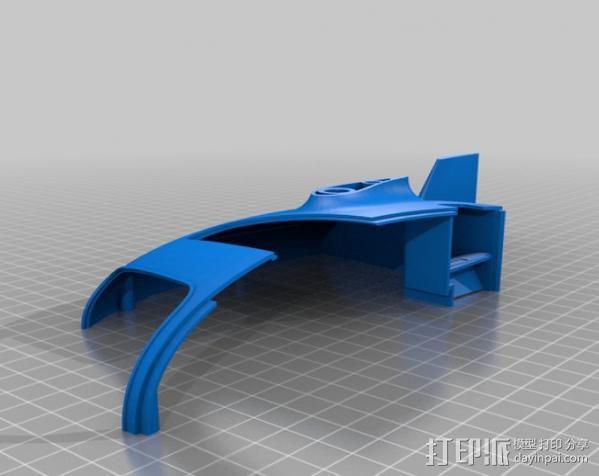 2040未来主义风格飞行器 3D模型  图13