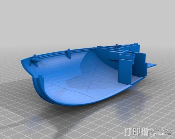 2040未来主义风格飞行器 3D模型  图15