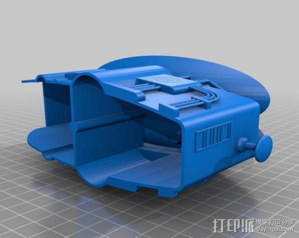 2040未来主义风格飞行器 3D模型  图20
