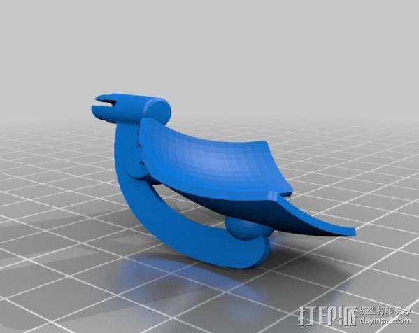 2040未来主义风格飞行器 3D模型  图21