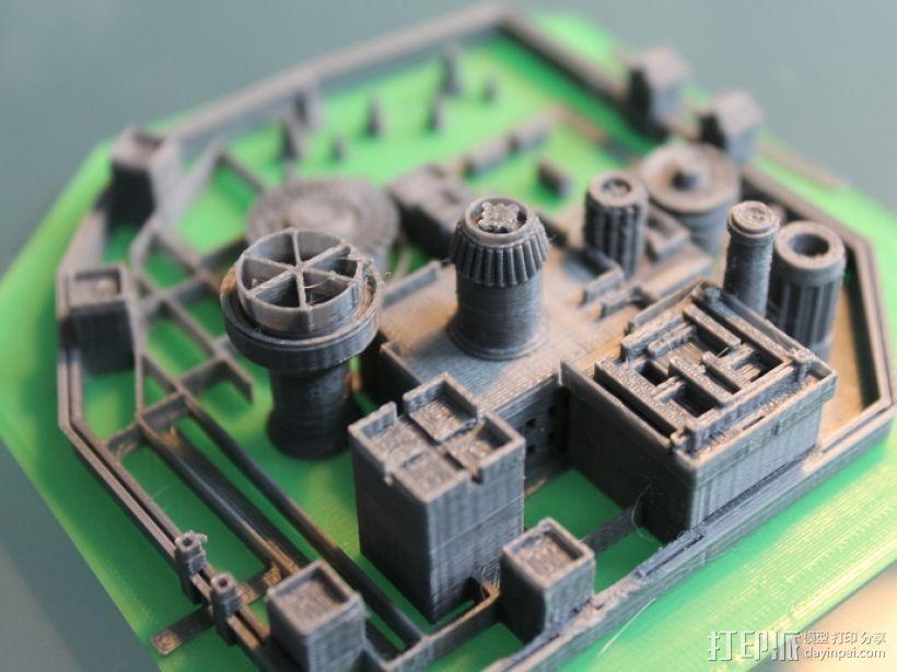 温特菲尔 城市模型 3D模型  图4