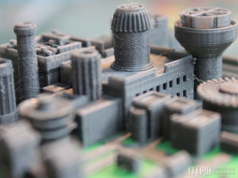 温特菲尔 城市模型 3D模型  图6