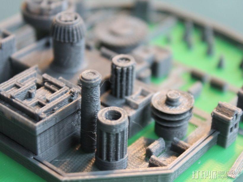 温特菲尔 城市模型 3D模型  图5