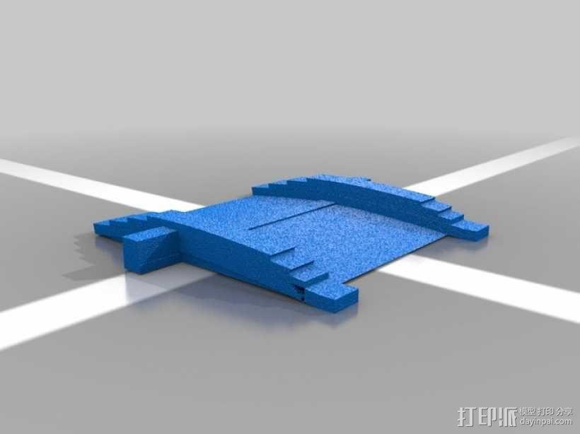 大篷车 3D模型  图2